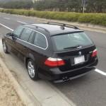 100キロドライブ 乗り心地 BMW E61 525i