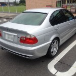 シリンダーヘッド からの オイル漏れ 修理… 代車は E46 320i BMW E61 525i
