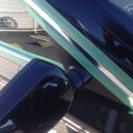 モール磨き 完了 BMW E61 525i