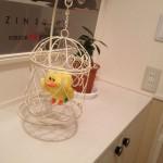 12 玄関には幸せの黄色い鳥?