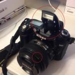 落下 破損 修理 Nikon D90 と AF-S 50mm F1.8G