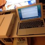 新戦力! Apple MacBook Air 11-inch 登場!