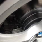 ブレーキパッド ローター 交換 BMW E61 525i