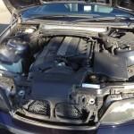 リアゲート ダンパー 修理完了 BMW E61 525i
