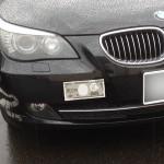 牽引フックカバー 脱落 修理 BMW E61 525i