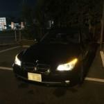 久しぶりの 手洗い洗車 BMW E61 525i