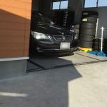 スタッドレス 履き替え 交換 BMW E61 525i