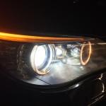 目力半減! ヘッドライト BMW E61 525i
