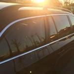 モール磨き と 達成感! BMW E61 525i