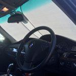 夏の必需品… サンシェード 大活躍! BMW E61 525i