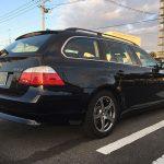 スタッドレスに交換! ピレリ アイス・アシンメトリコ 2年目 BMW E61 525i