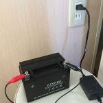 それでも バッテリーを充電してみた! GSX400 インパルス type S