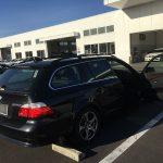 通算4回目、9年目の車検に出しました! BMW E61 525i