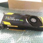 今更ですが、Mac Pro Early 2008 に GeForce GTX 680 を購入!