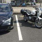 納車 で 増車 … BMW R1200R(2010)