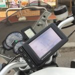 BMW Motorrad Navigator IV 取付けました! BMW R1200R(2010)