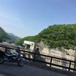 薗原ダム から 群馬県道 62号線 … BMW R1200R(2010)
