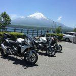 オフ ツーリング その2 山中湖 〜 道志みち BMW R1200R(2010)