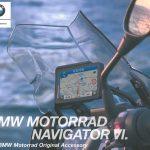 新しいナビが発売されましたね!? BMW Motorrad ナビゲーター VI