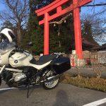 バイク神社 に行ってみた!安住神社 BMW R1200R(2010)