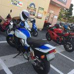 ついにドナドナ?インパルス君(黒男)初めてのバイク買取査定 … GSX400 インパルス type S
