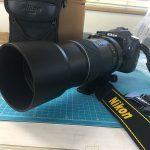 今更ですが大満足!?… 望遠レンズ AI AF-S Nikkor 300mm f/4D IF-ED(旧型 サンヨン)買っちゃいました!