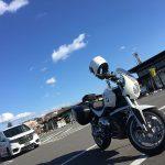 2019初乗りは… バイク神社をスルーして道の駅から見事なハーレートラップ(笑) BMW R1200R(2010)