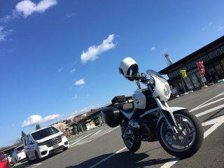 道の駅サシバの里いちかい BMW R1200R
