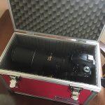 望遠レンズの持ち運び方 … やっぱりハードケースが安心ですね!? Nikon D750