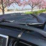 アウトドアブーム(?)に感謝? 雨が降ったらどうしよう!? 故障したサンルーフの応急処置… BMW E61 525i