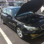 トラブルの総決算!? 高速降りたら… オーバーヒート(涙) BMW E61 525i