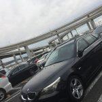 横浜まで辿り着かずに大黒PAまで行って帰って来ました… BMW E61 525i