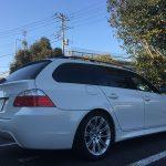 ハウマッチ!BMW E60/E61 用のホイール付きスタッドレスタイヤ欲しい人いませんか? BMW E61 525i