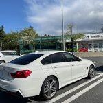 まずはトラウマの克服から… 懲りずに(修理からの)納車ドライブは筑波山! BMW F36 420i