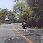 あそこは走った者勝ちだったのか?筑波スカイラインでバイクと遭遇した話… BMW F36 420i