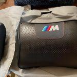 またつまらぬ物を買ってしまった… M専用(嘘です)ヘッドレストクッション BMW F36 420i
